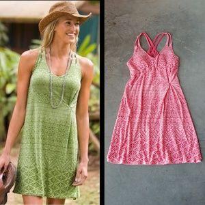 Athleta Pink Watermelon Knotted Nanda Dress small